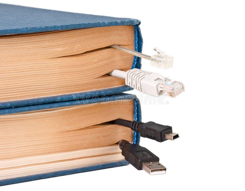 Segnalibro nel libro immagini stock libere da diritti