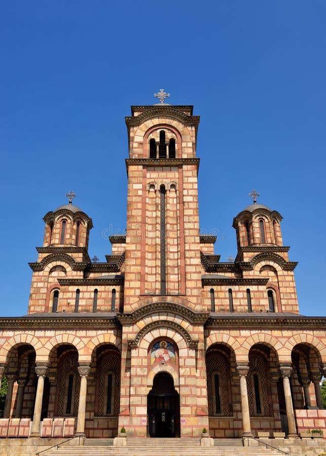 Segni chiesa, Belgrado, Serbia della st fotografia stock libera da diritti