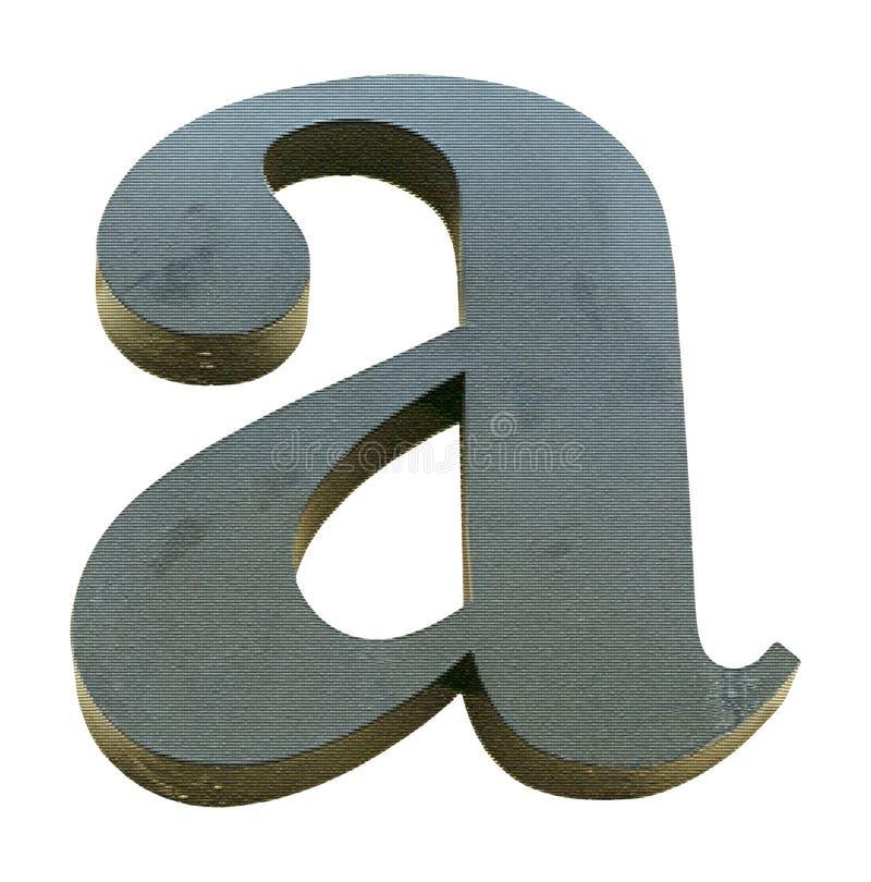 Segni A con lettere illustrazione vettoriale