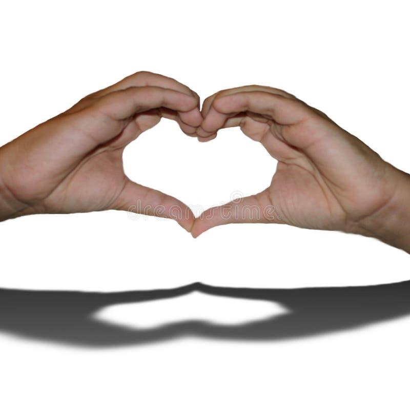 Segni di amore immagini stock libere da diritti