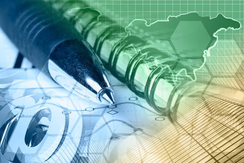 Segni, grafico e mappa della posta immagine stock libera da diritti