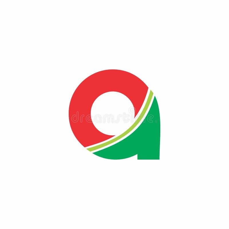 Segni un logo con lettere delle curve royalty illustrazione gratis