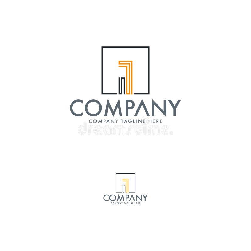 Segni un modello con lettere creativo di progettazione di logo di affari Ciò è un logo iconico usato per molti scopi e progetti illustrazione vettoriale