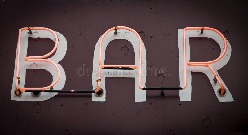 Segno al neon di Antivari fotografia stock