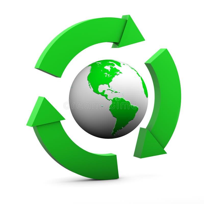 Segno ambientale S.U.A. royalty illustrazione gratis