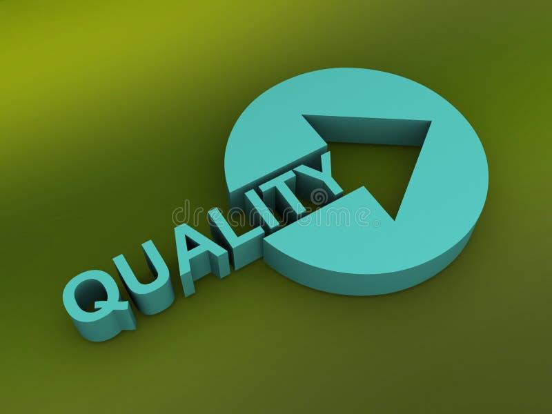 Segno astratto di qualità illustrazione di stock