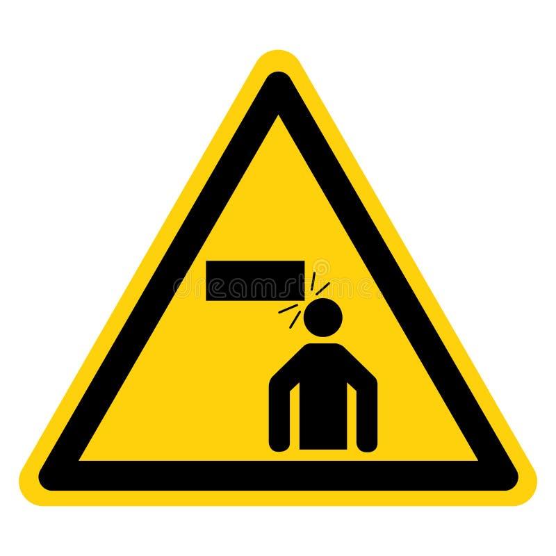 Segno basso di simbolo di spazio, illustrazione di vettore, isolato sull'etichetta bianca del fondo EPS10 illustrazione vettoriale