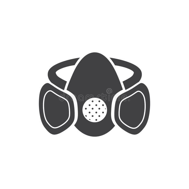 Segno in bianco e nero della maschera royalty illustrazione gratis