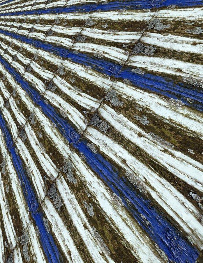 Segno blu e bianco del fondo - illustrazione di stock