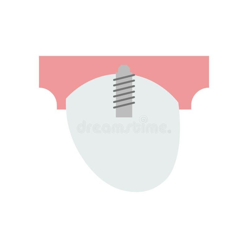 Segno canino e simbolo di vettore dell'icona isolati su fondo bianco illustrazione di stock