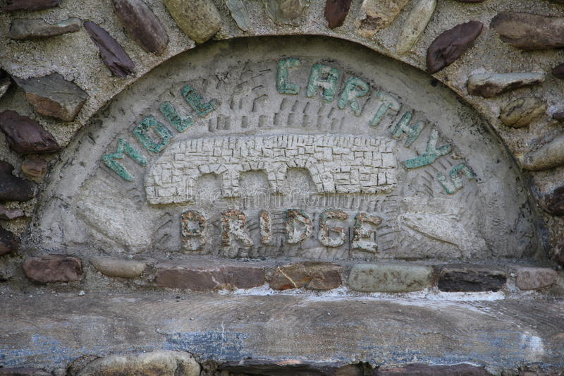 Segno Cork Ireland del ponte di Carthys della puttana fotografie stock