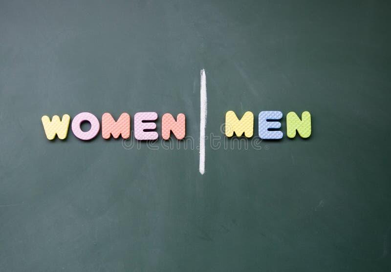 Segno degli uomini e delle donne immagine stock libera da diritti
