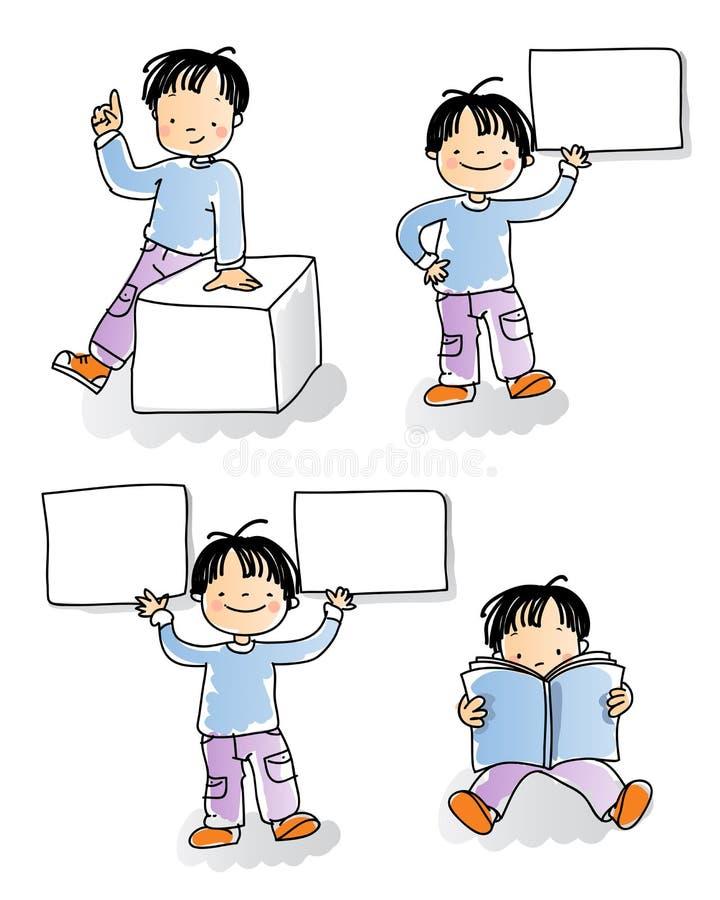 Segno dei bambini illustrazione di stock