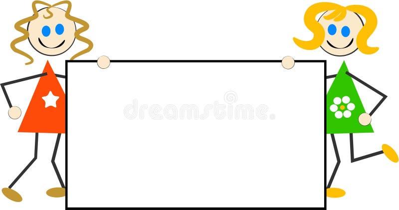 Segno dei bambini illustrazione vettoriale
