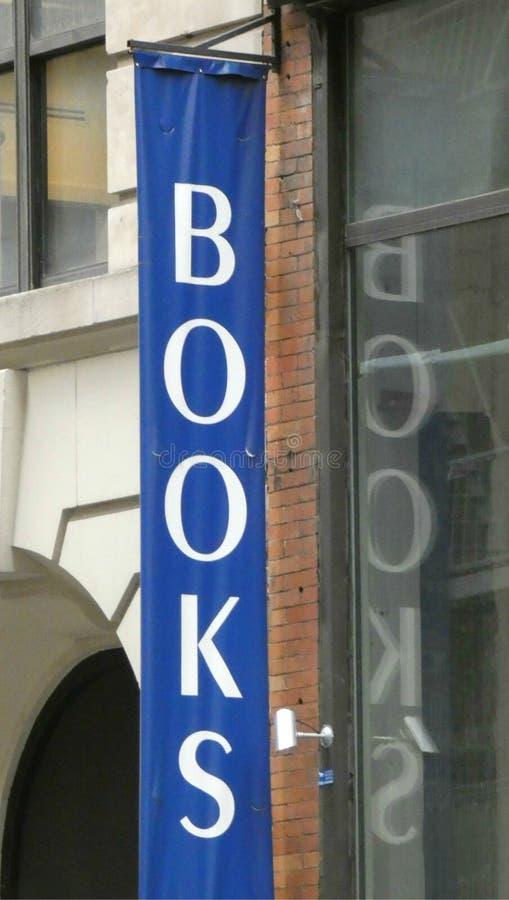 Segno dei libri fotografie stock