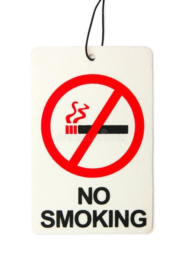 Segno dei pericoli di fumo immagini stock