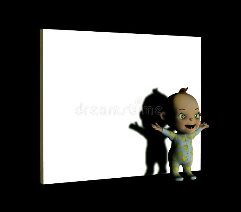Segno del bambino royalty illustrazione gratis