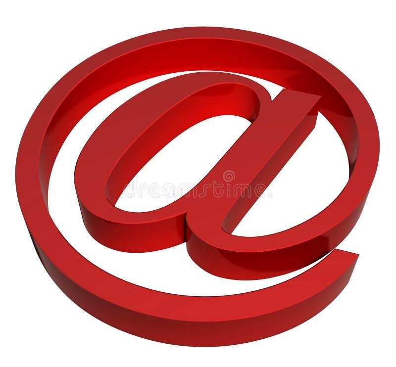 Segno del email illustrazione vettoriale