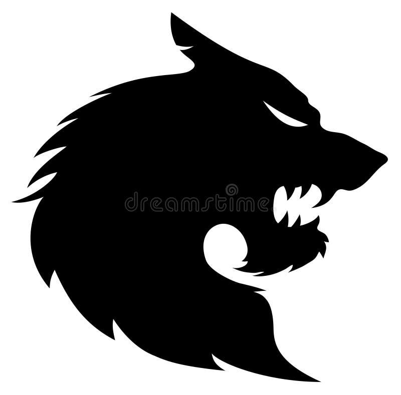 Segno del lupo royalty illustrazione gratis