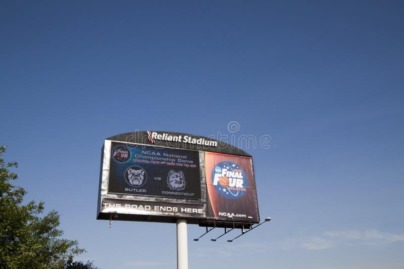 Segno del NCAA 2011 fotografia stock libera da diritti