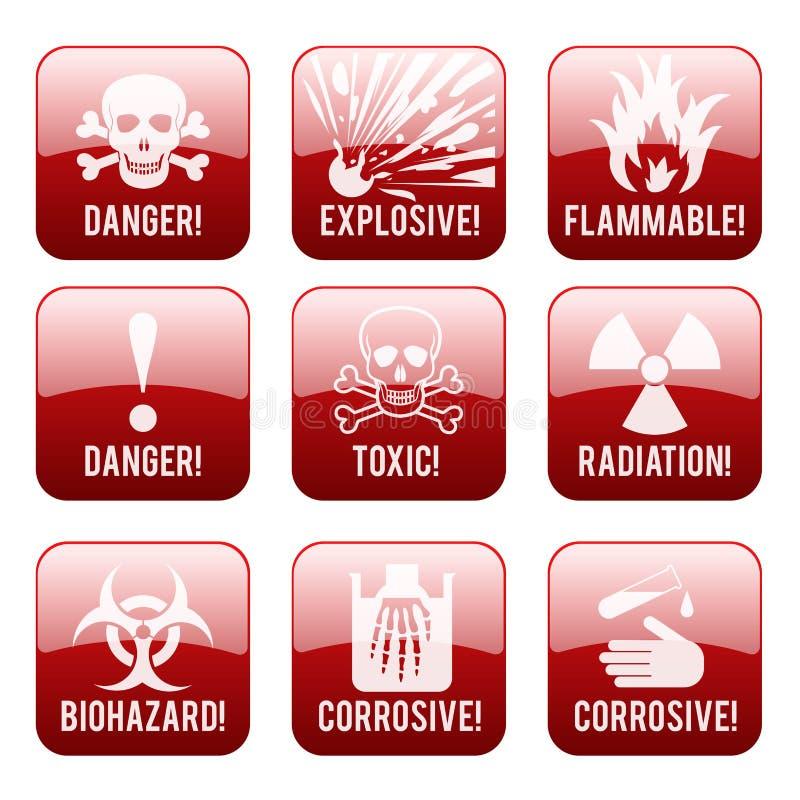 Download Segno del pericolo illustrazione vettoriale. Illustrazione di industriale - 56877124