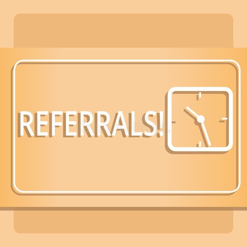 Segno del testo che mostra i rinvii Legge concettuale della foto di rinvio qualcuno o del qualcosa per la rassegna di consultazio royalty illustrazione gratis