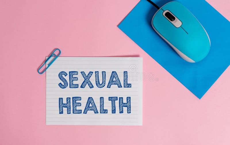 Segno del testo che mostra salute sessuale Positivo concettuale della foto e approccio rispettoso al cavo di rapporti sessuali fotografie stock