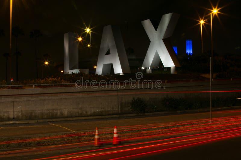 Segno dell'aeroporto di LASSISMO immagine stock