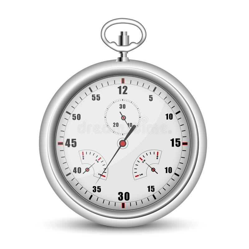 Segno dell'orologio illustrazione di stock