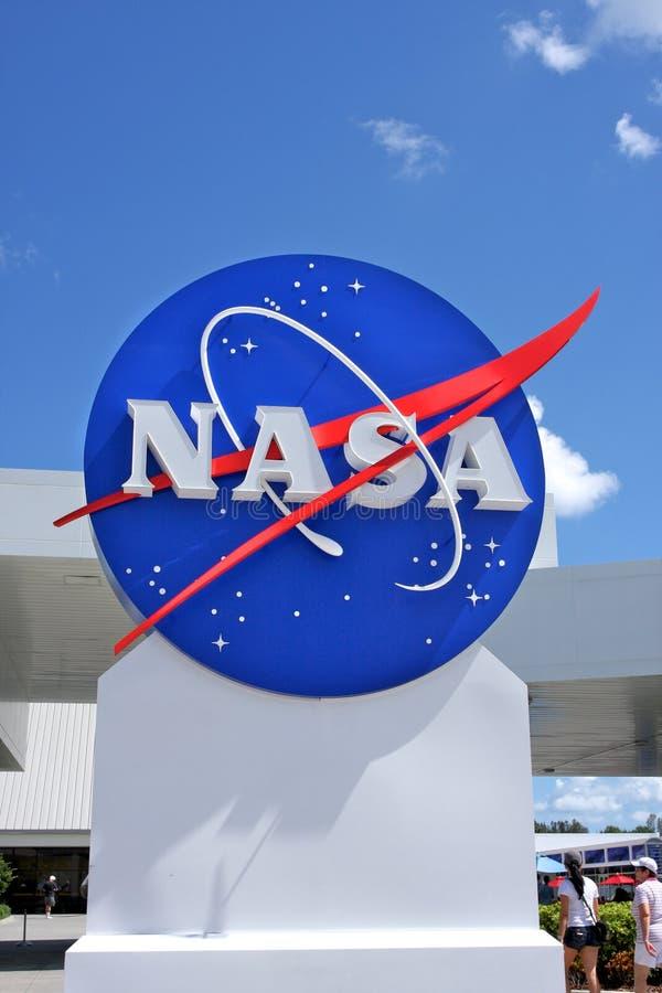 Segno della NASA fotografie stock