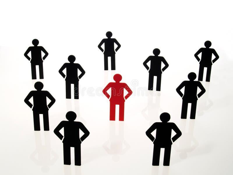 Segno della squadra della gente illustrazione di stock
