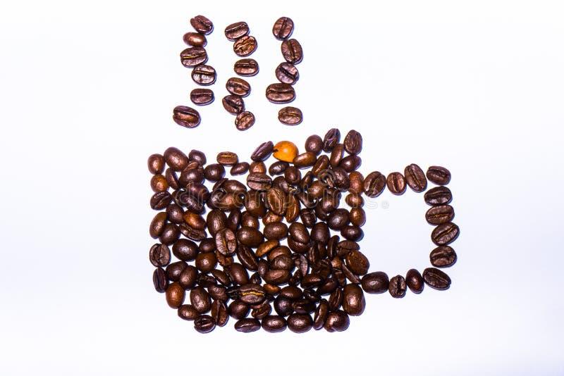 Segno della tazza di caffè immagini stock libere da diritti