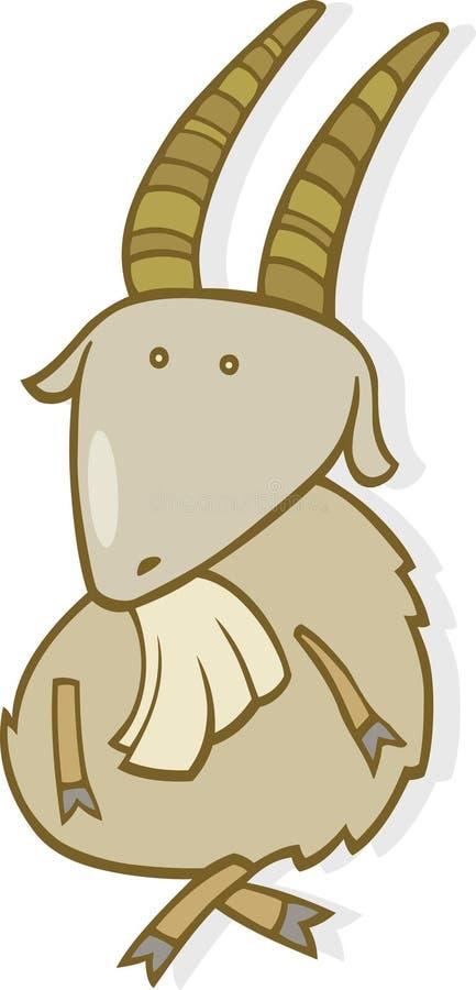Segno dello zodiaco del Capricorn illustrazione di stock