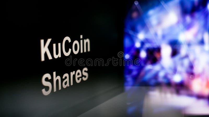 Segno di Cryptocurrency comportamento degli scambi di cryptocurrency, concetto Tecnologie finanziarie moderne fotografia stock libera da diritti