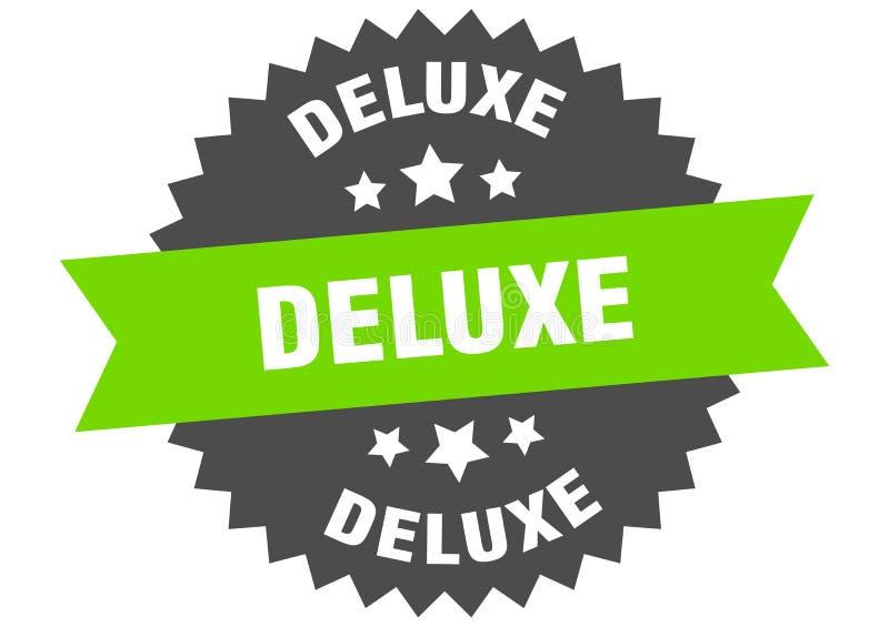 segno di deluxe etichetta di banda circolare deluxe adesivo di lusso royalty illustrazione gratis