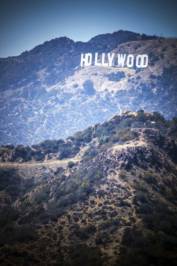 Segno di Hollywood immagine stock libera da diritti