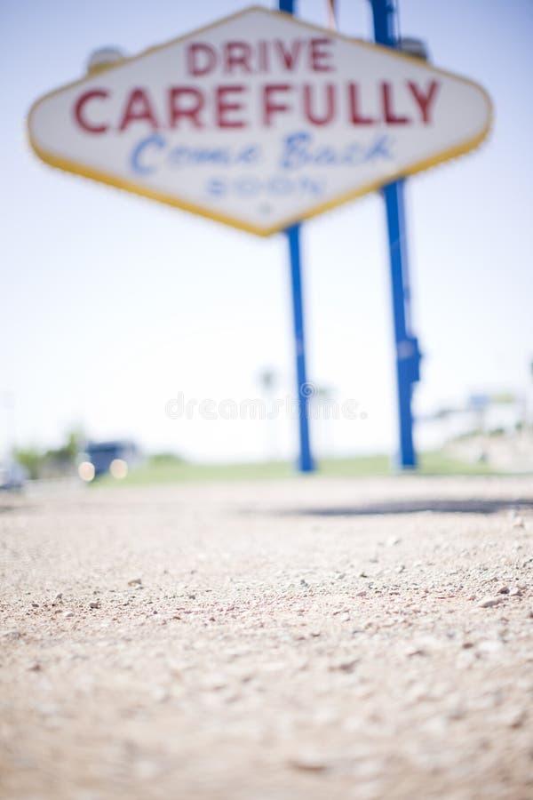 Segno di Las Vegas fotografia stock libera da diritti