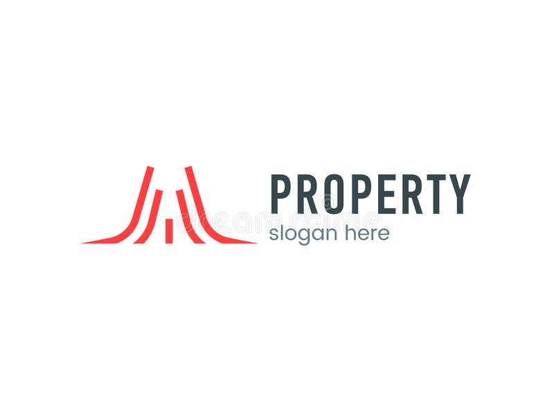 Segno di logo della proprietà royalty illustrazione gratis