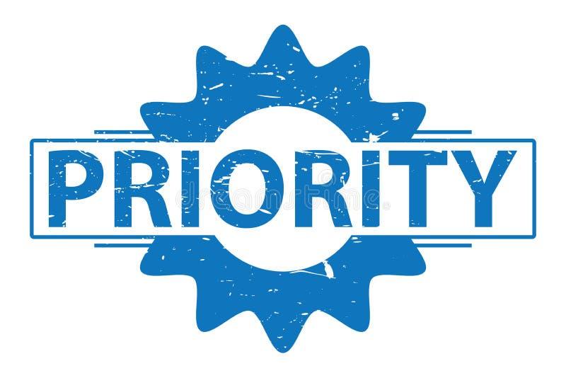 Segno di priorità illustrazione vettoriale