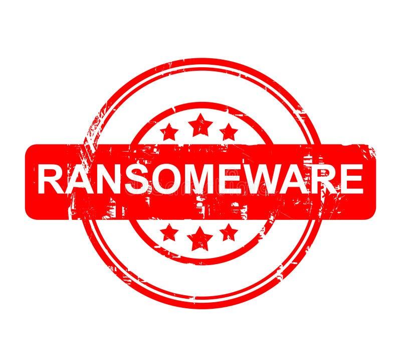 Segno di Ransomeware fotografia stock
