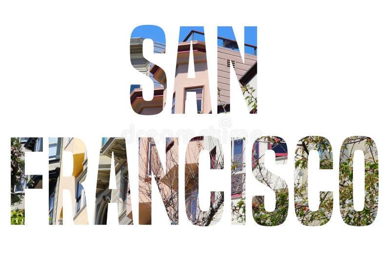 Segno di San Francisco royalty illustrazione gratis