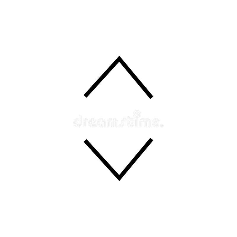Segno e simbolo di vettore dell'icona della scivolata isolati su fondo bianco, concetto di logo della scivolata royalty illustrazione gratis
