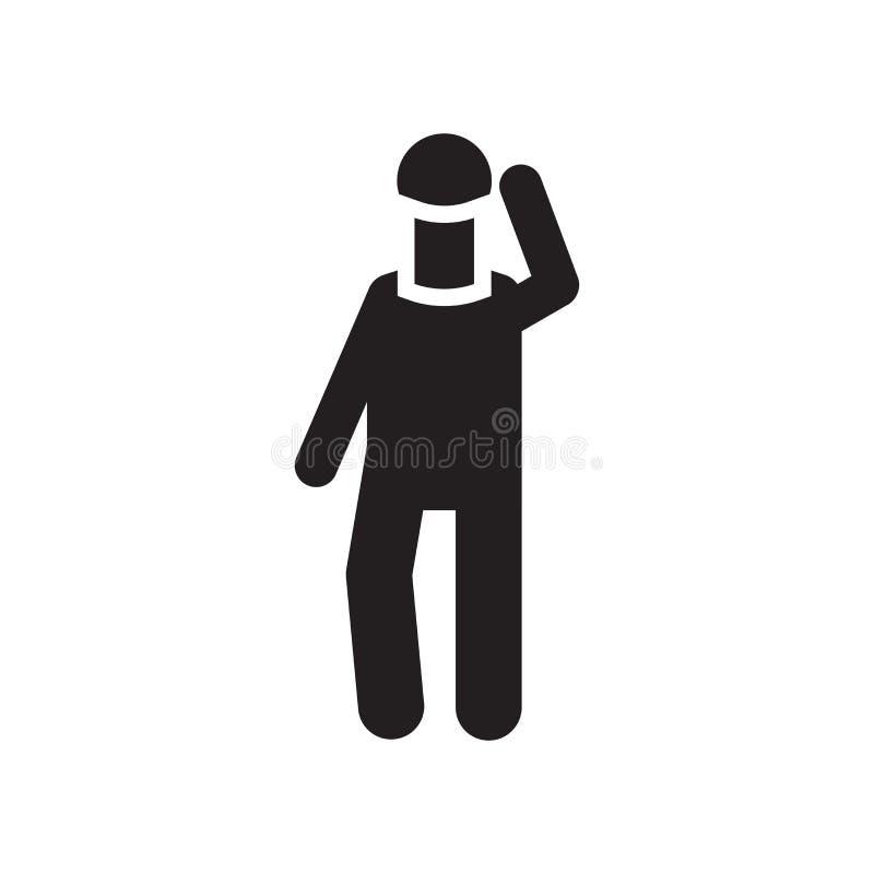 Segno e simbolo di vettore dell'icona di incidente isolati su fondo bianco, icona di concetto di logo di incidente royalty illustrazione gratis
