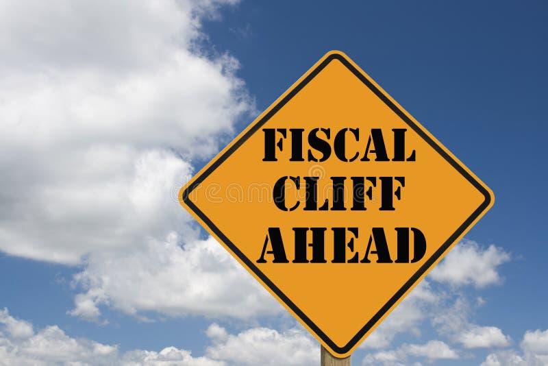 Segno fiscale della scogliera royalty illustrazione gratis