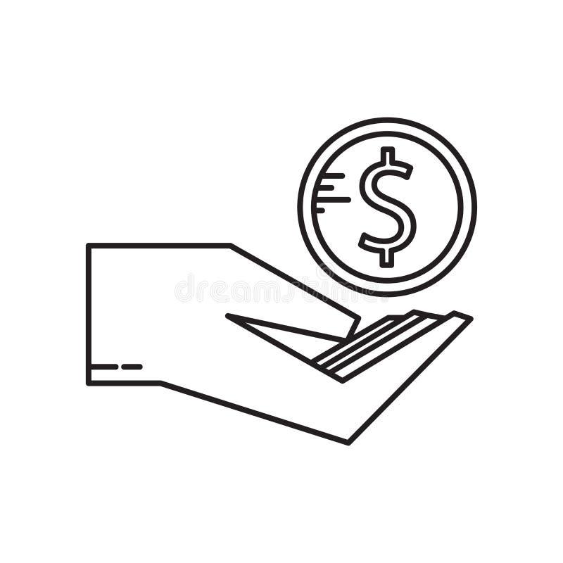 Segno incentivo e simbolo di vettore dell'icona isolati su fondo bianco, concetto incentivo di logo royalty illustrazione gratis