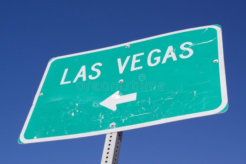 Segno a Las Vegas fotografie stock libere da diritti