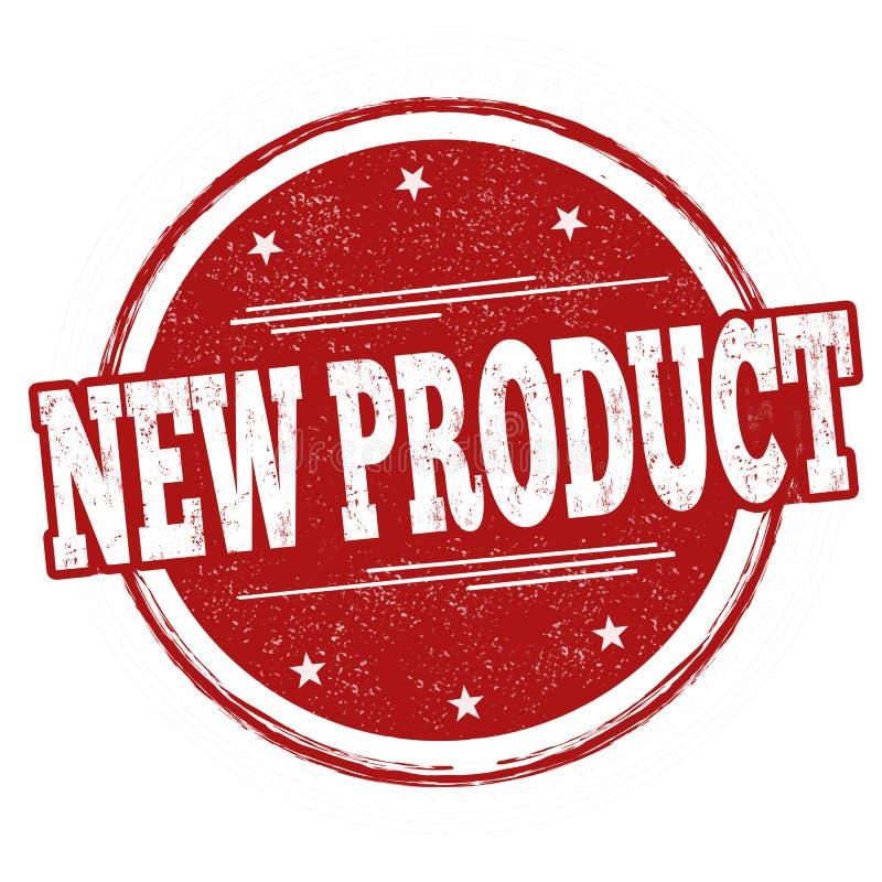 Segno o bollo del nuovo prodotto illustrazione di stock
