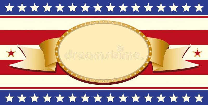 Segno patriottico royalty illustrazione gratis