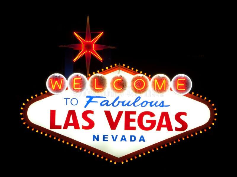 Segno positivo di Las Vegas immagini stock