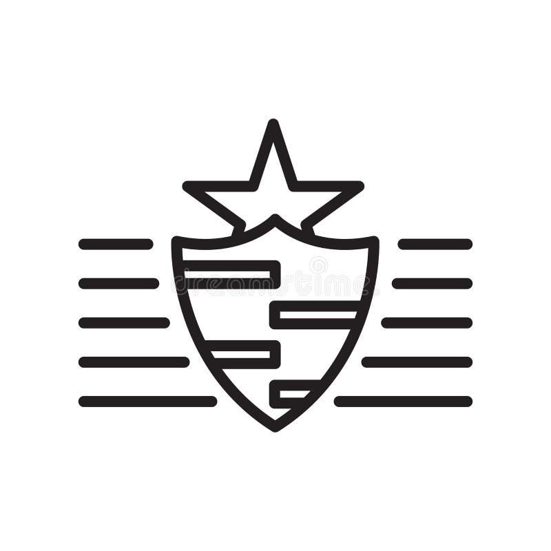 Segno rigoglioso e simbolo di vettore dell'icona isolati su fondo bianco, concetto rigoglioso di logo, simbolo del profilo, segno illustrazione di stock